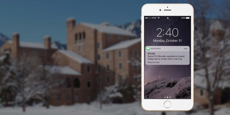 CU Boulder Alerts | University of Colorado Boulder